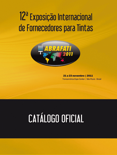 Catálogo Oficial – Abrafati 2011